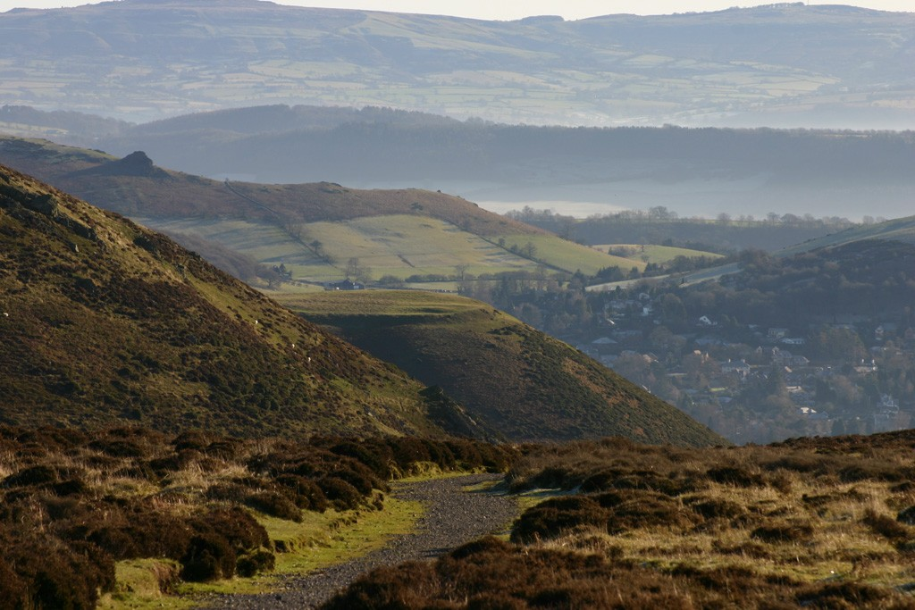 image courtesy of Gordon Dickins - Long Mynd to Church Stretton